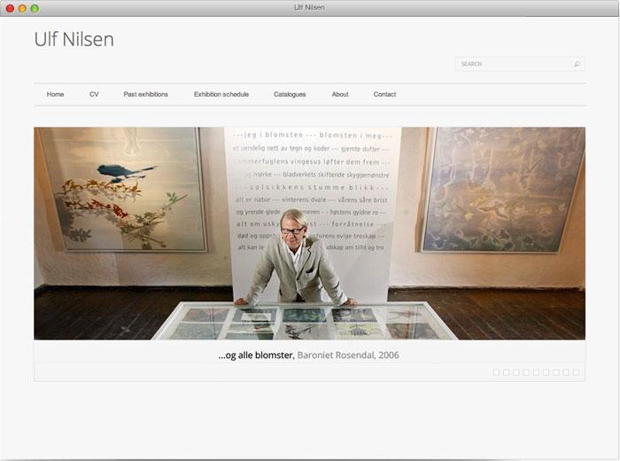 Ulf Nilsen - nettside