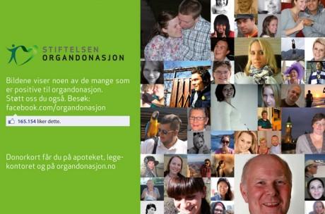 Donasjonsdagen 2010 - Plakat