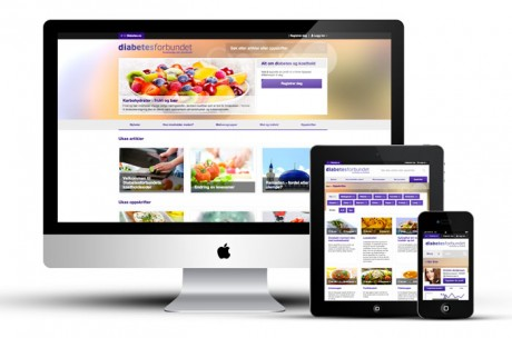 diabetesforbundet kosthold responsiv nettside